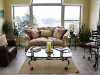 Arched Window Sunroom