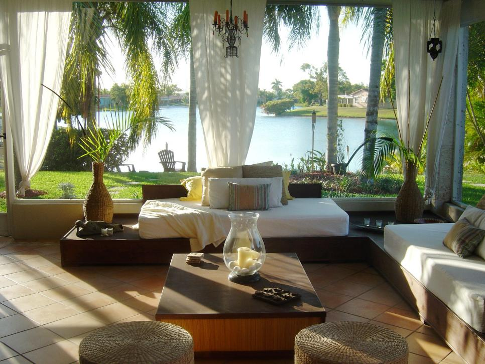 beach inspired sunrooms hgtv - Sunroom Ideas Designs