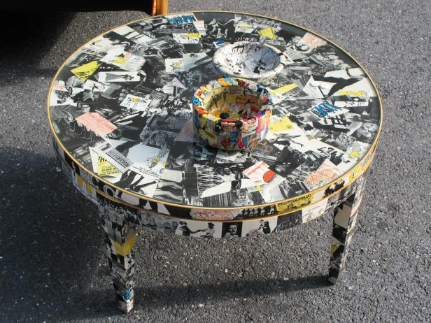 Decoupage Ideas For Furniture HGTV