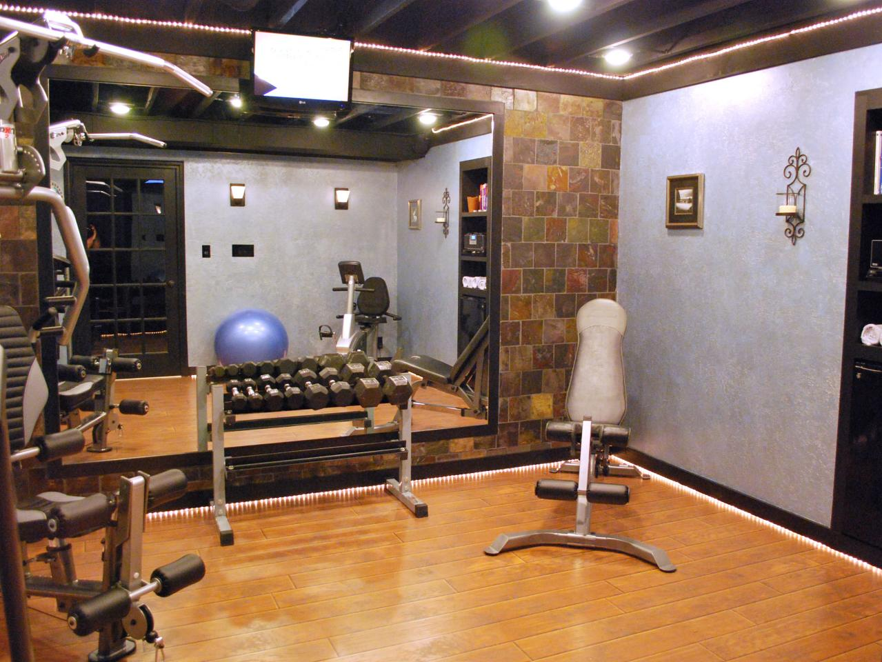 Home gyms in any space decorating and design ideas for