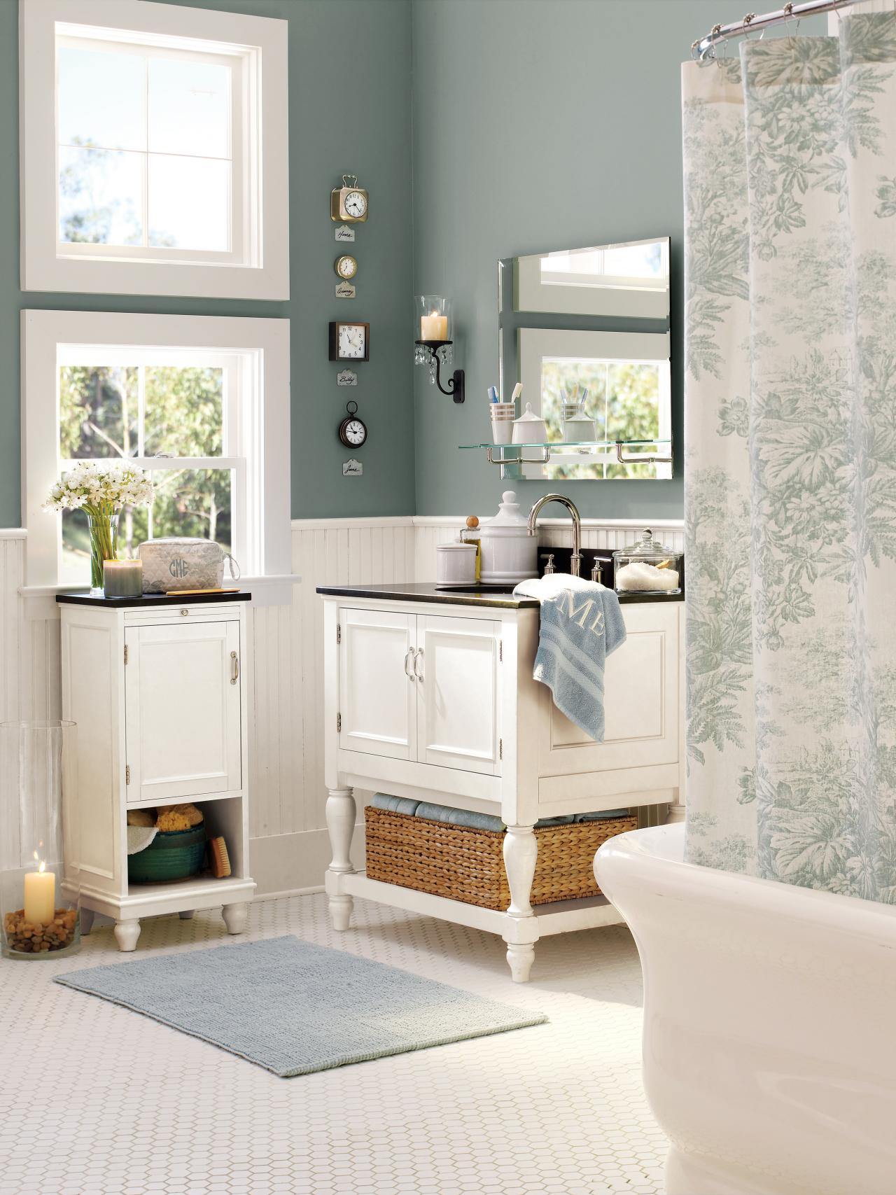 awesome pottery barn bathrooms designs | Photos | HGTV