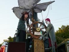 Halloween Pirate Ship