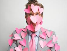 Pink Paper Hearts