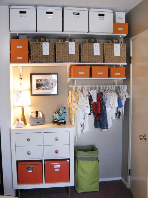 Closet Organization Tips organizing kids' closets | hgtv