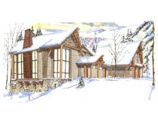2011 Dream Home Rendering by Paul Robert Rousselle