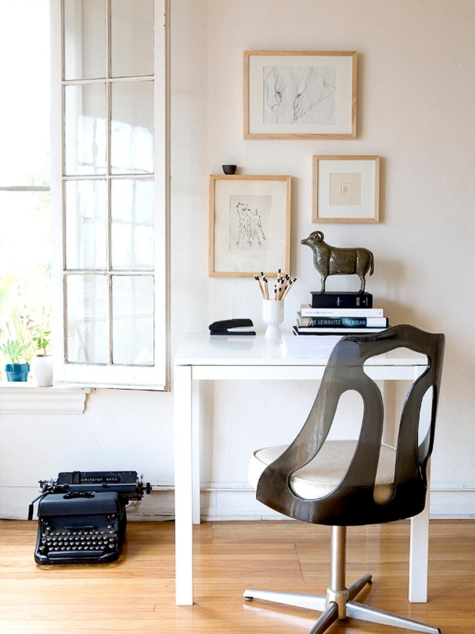 Brilliant Small Home Office Ideas Hgtv Largest Home Design Picture Inspirations Pitcheantrous