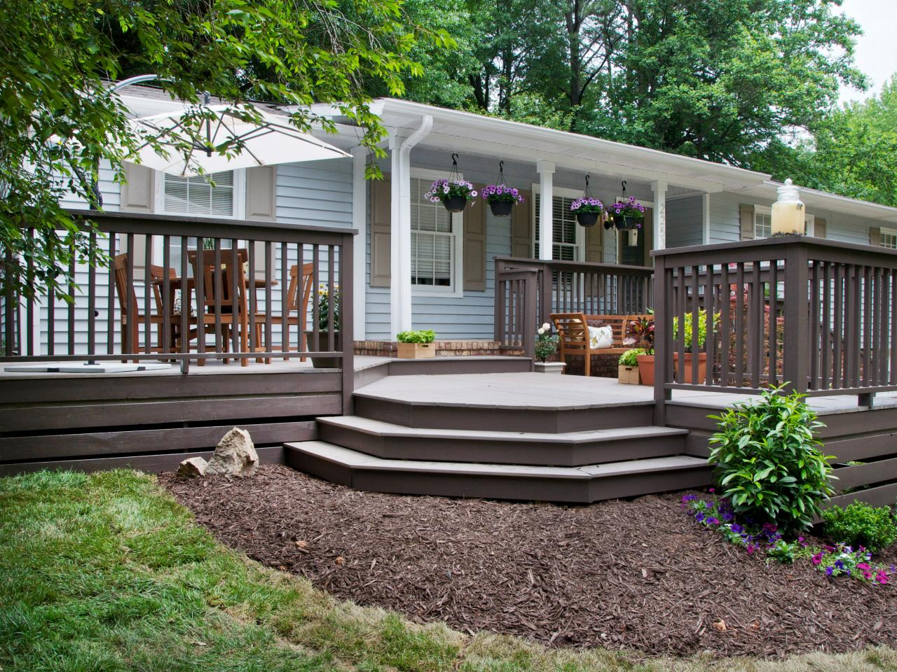 Photos hgtv for Front porch patio ideas