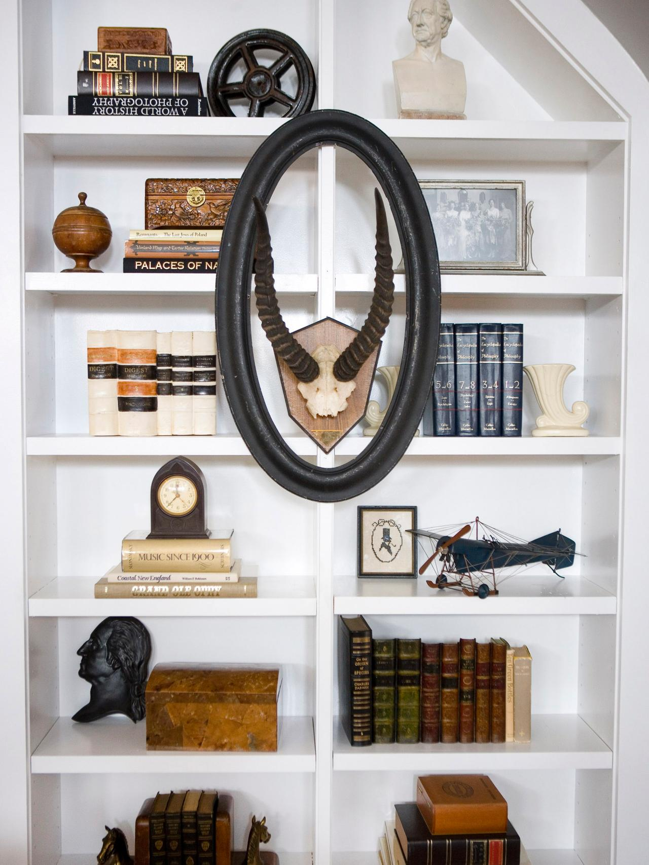 Wall Shelf Home Decor : Bookshelf and wall shelf decorating ideas interior