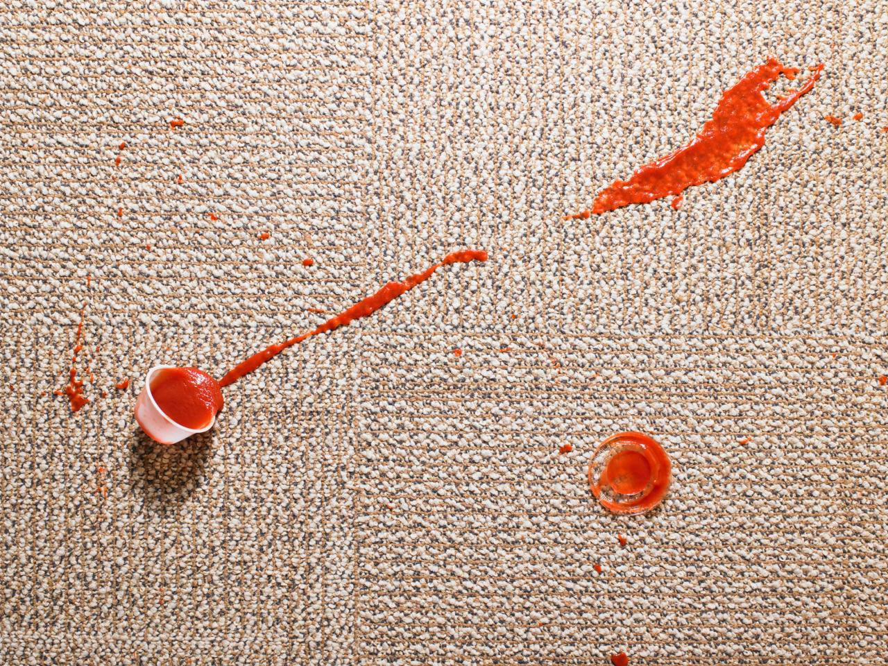 How To Clean Carpet Stains Hgtv