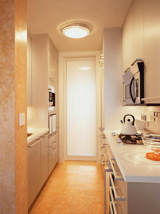 Galley Kitchen Design Layout small galley kitchen design: pictures & ideas from hgtv | hgtv