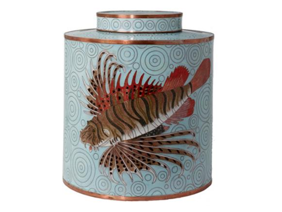 HGTV Marketplace Decorative Asian Style Jar