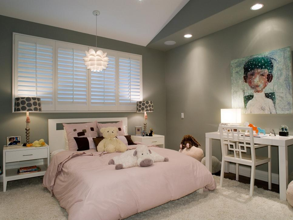 Bed Room Ideas For Girls kids bedroom ideas | hgtv