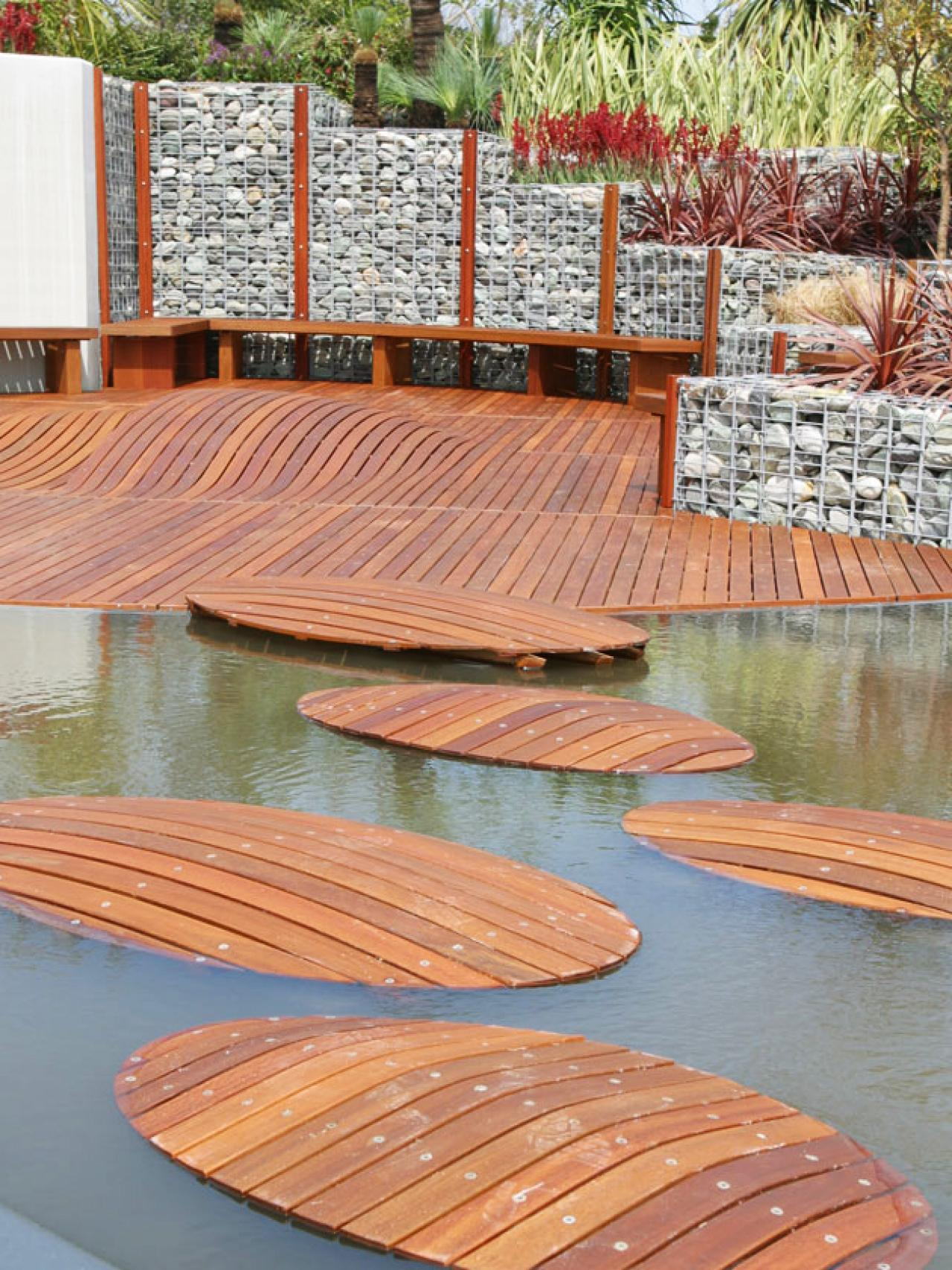 Innovative design ideas for stunning decks outdoor for Outside decking material