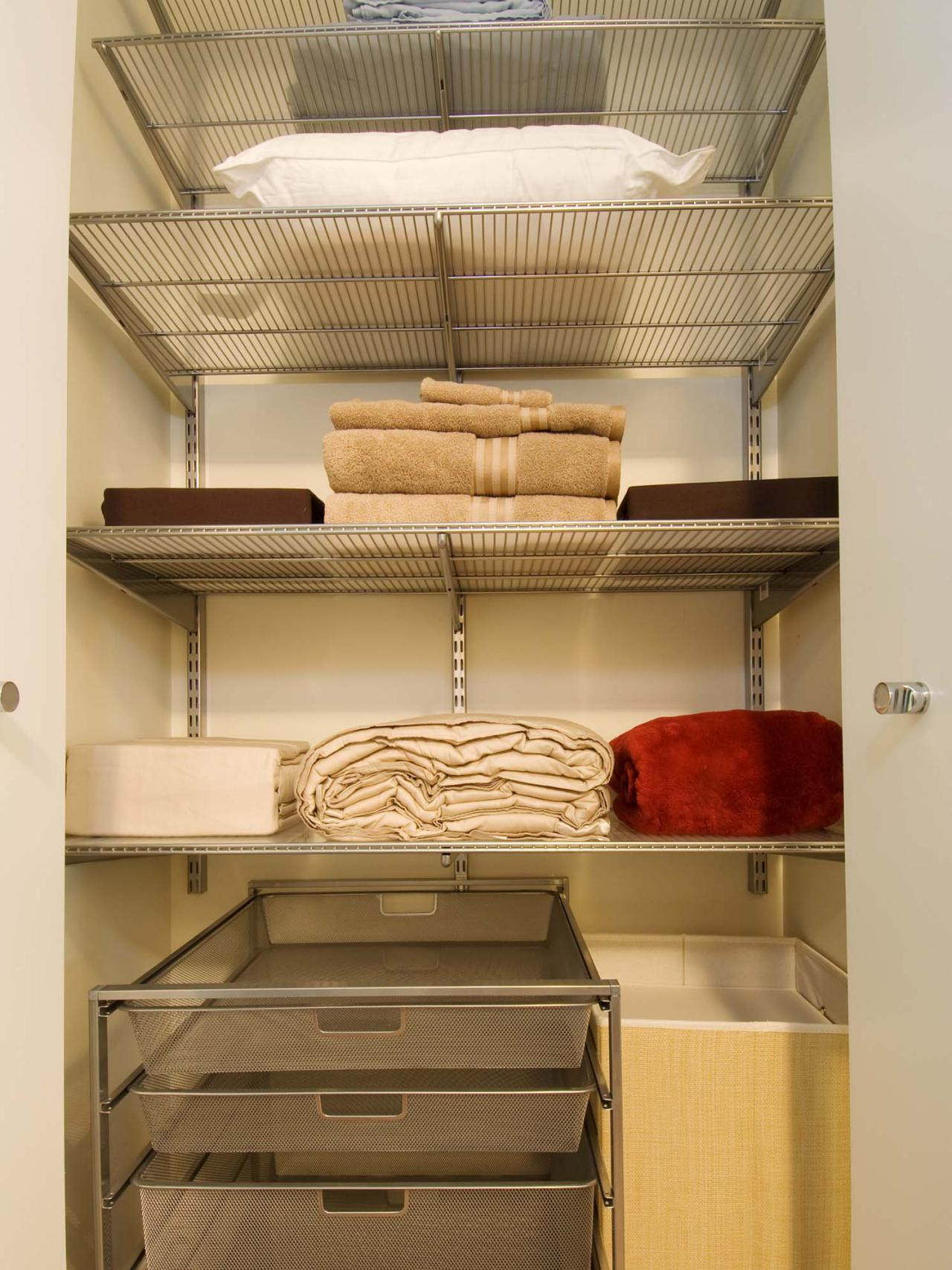 Related To: Closet Organization Closets Decluttering Organization. Organized  Linen Closet