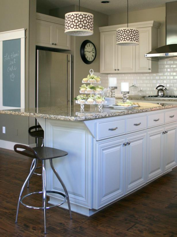 painted kitchen islandsCustomize your kitchen with a painted island  HGTV