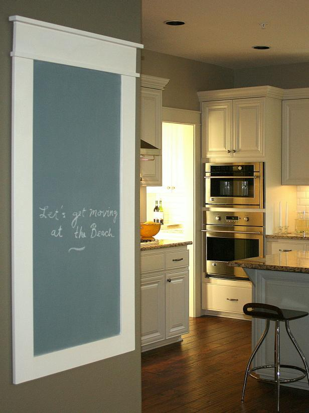 Kitchen Chalkboard Family Message Center