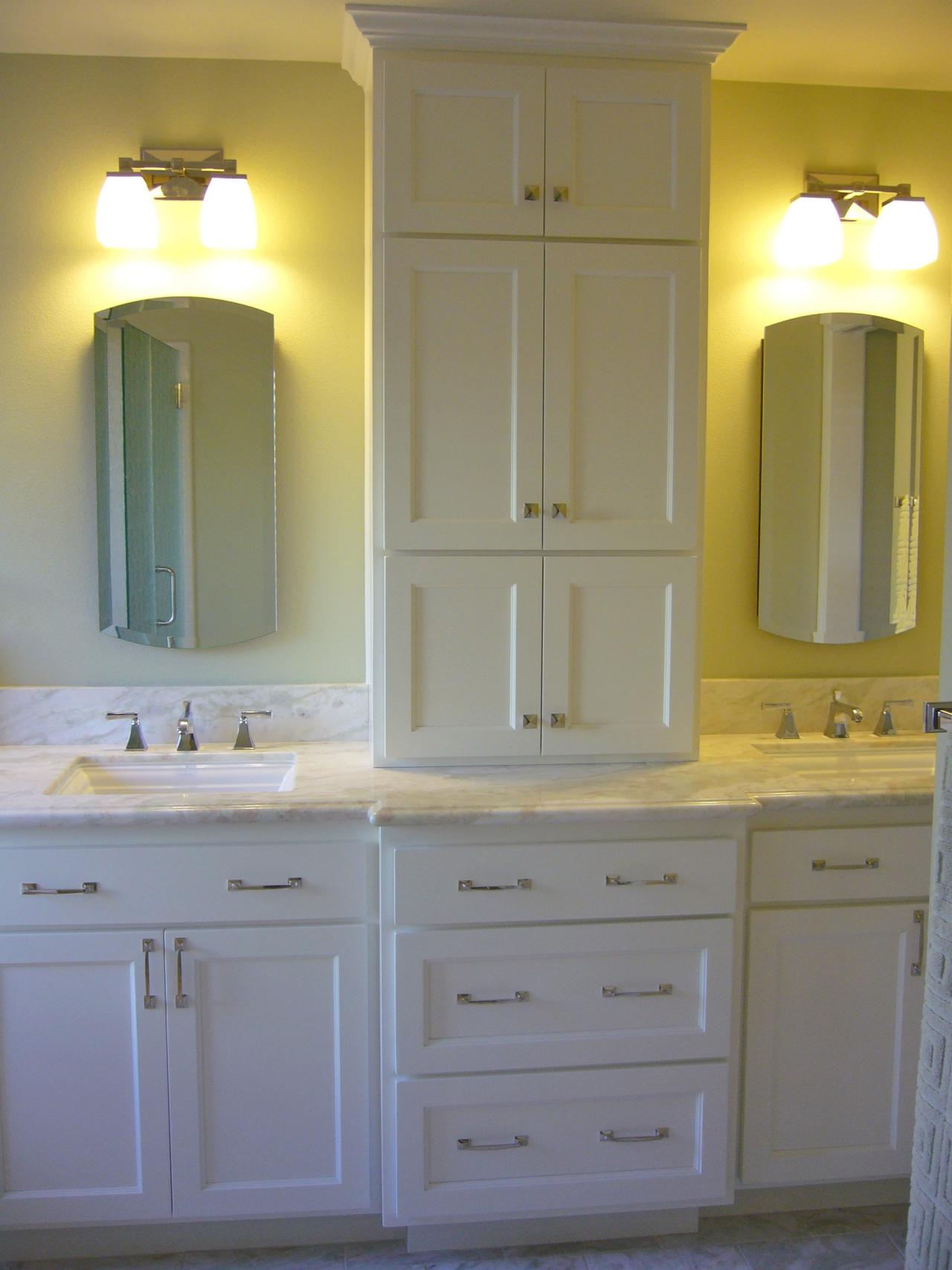 Bathroom vanities for any style bathroom ideas designs Bathroom vanity cabinet storage