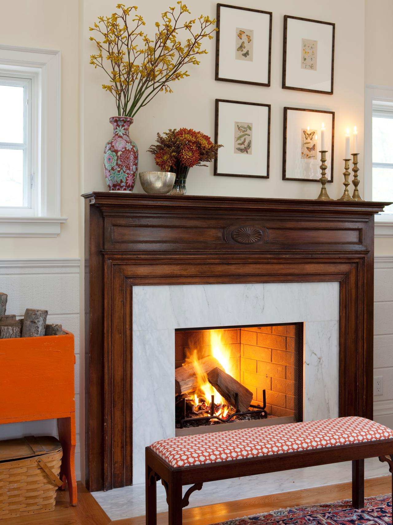 20 mantel and bookshelf decorating tips living room and for How to design a fireplace mantel