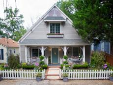 After: Craftsman Home With Victorian Porch Detail