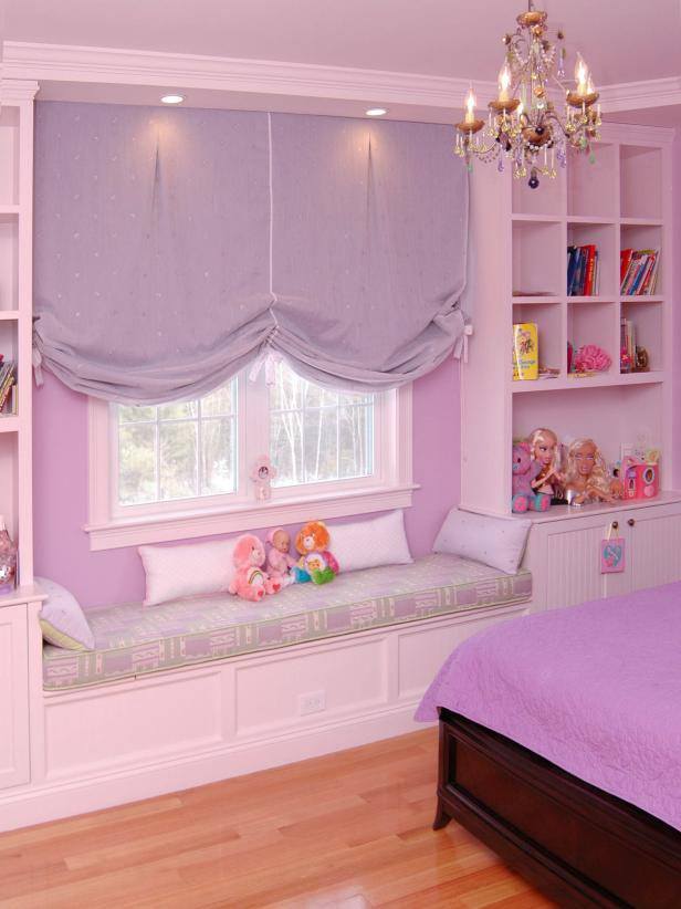 Purple Girl's Bedroom