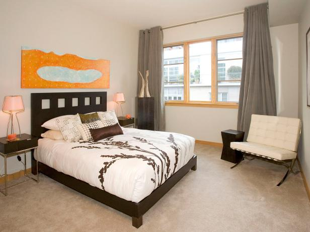 Neutral Contemporary Bedroom
