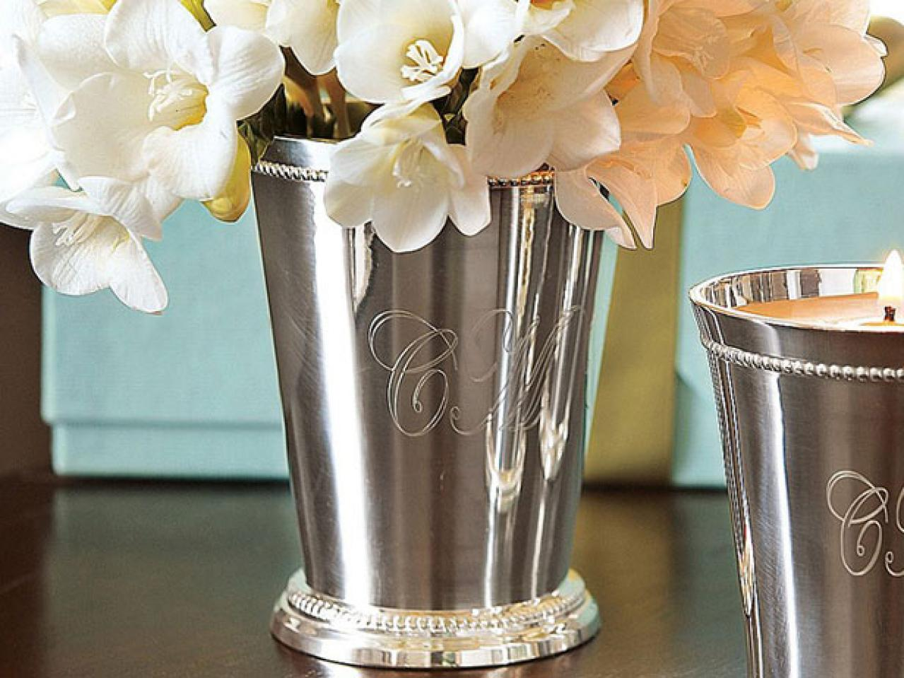 Kitchen table centerpiece design ideas hgtv pictures hgtv for Silver centerpieces for dining table