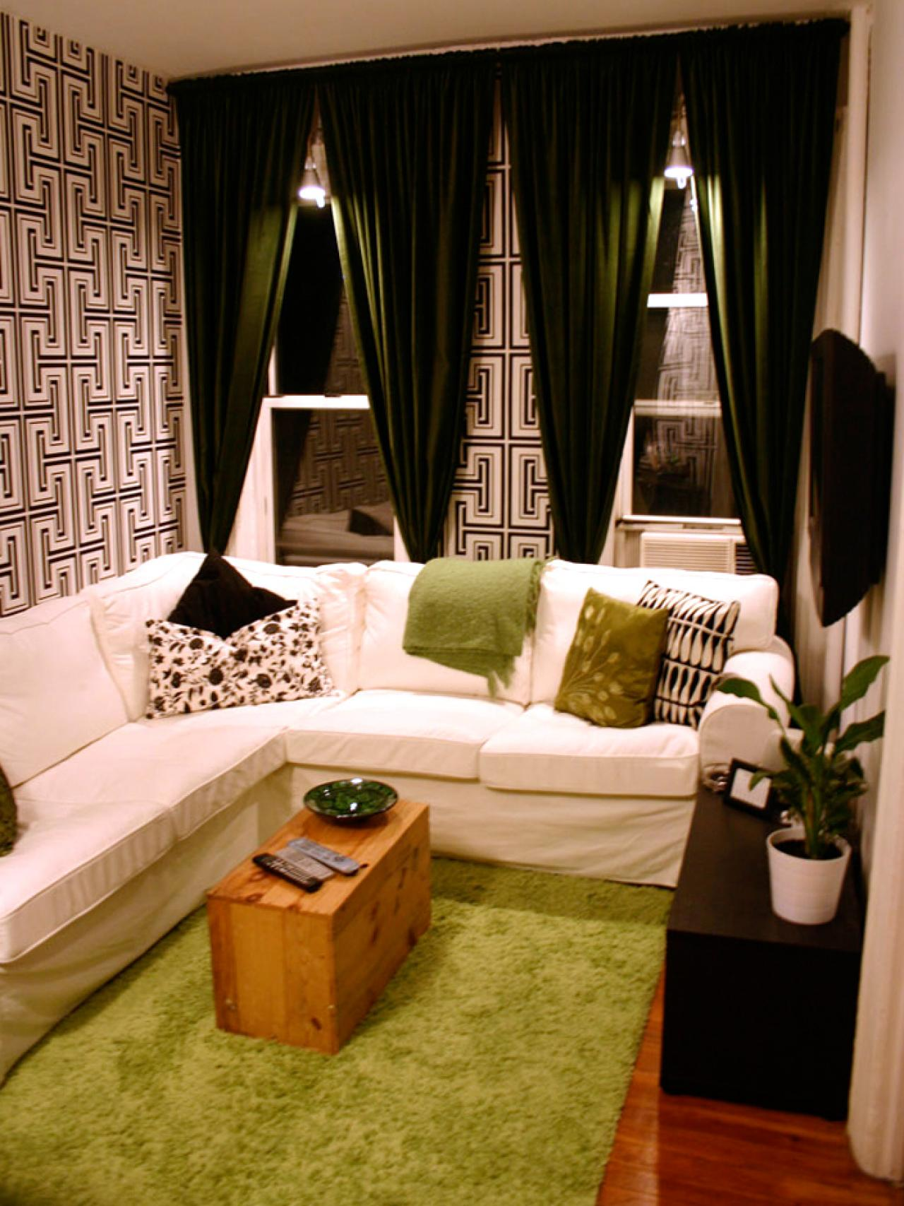 12 design ideas for your studio apartment | hgtv's decorating