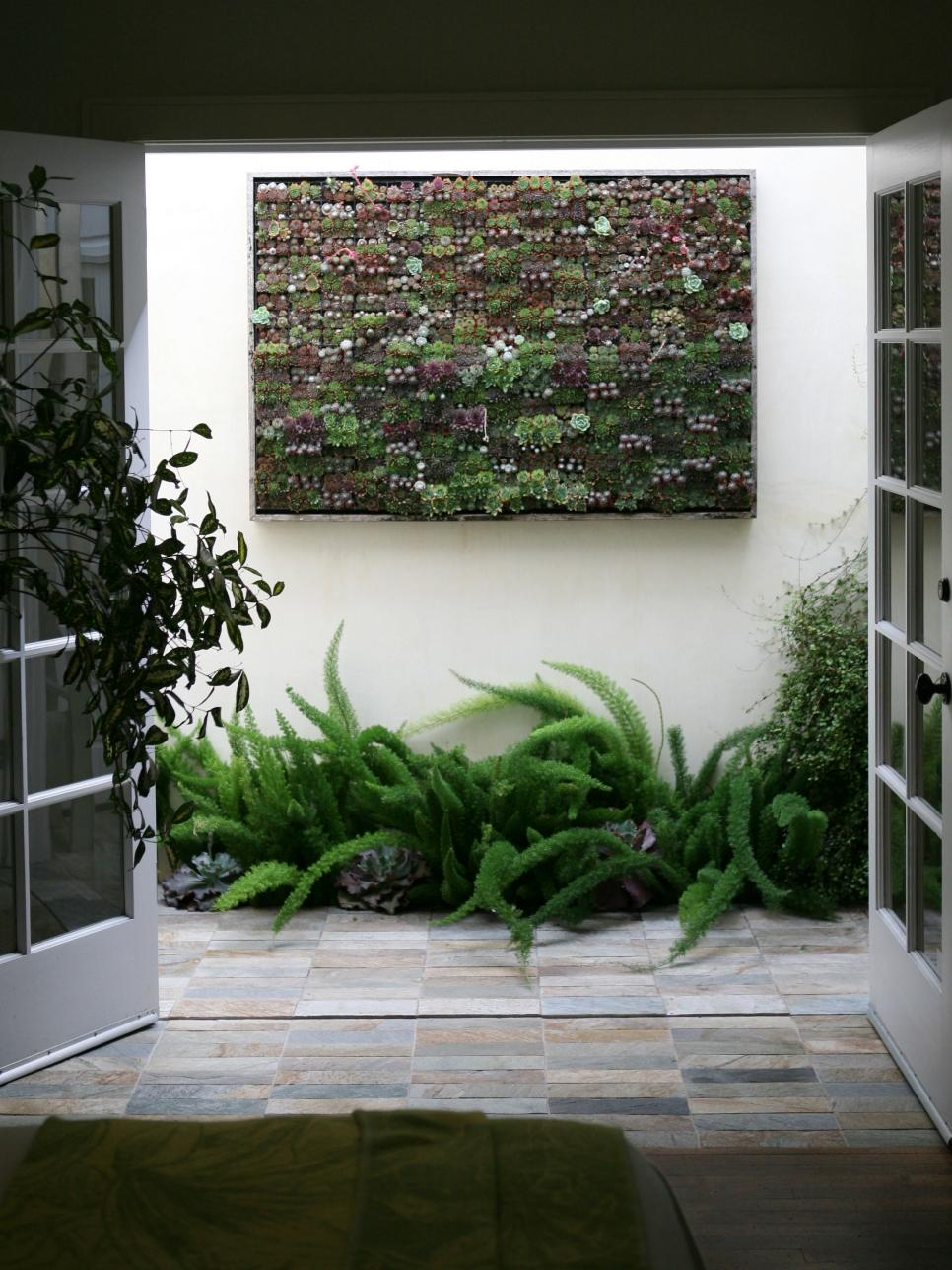 Garden Wall Art amazing outdoor walls and fences | hgtv