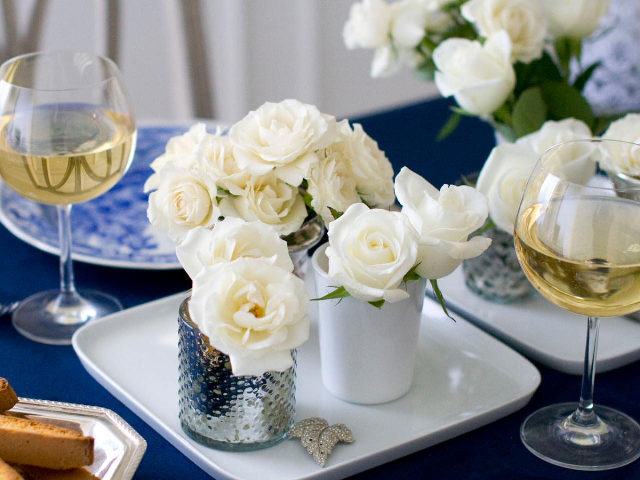 Simply elegant dinner party entertaining ideas