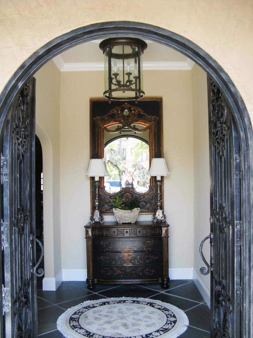 Foyer Door : Old world design ideas hgtv