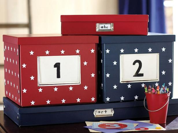 Pottery Barn Kids Storage Boxes