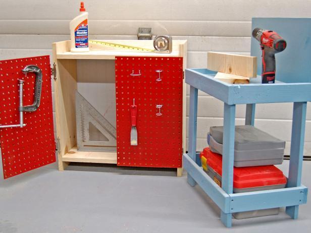 Finished Children's Workbench