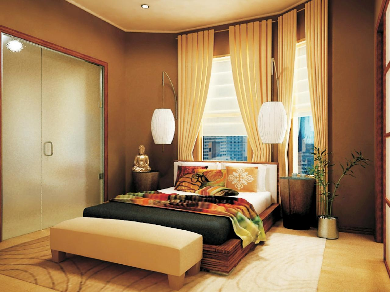 Asian design ideas interior design styles and color for Bedroom decor styles