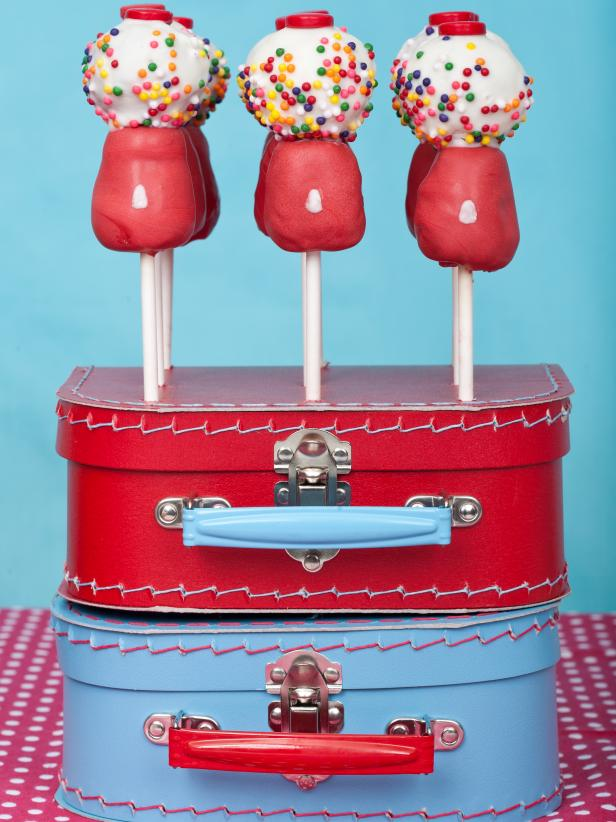 Fun Gumball Pop Cake
