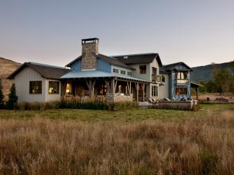 HGTV Dream Home 2012 Modern Ranch Exterior
