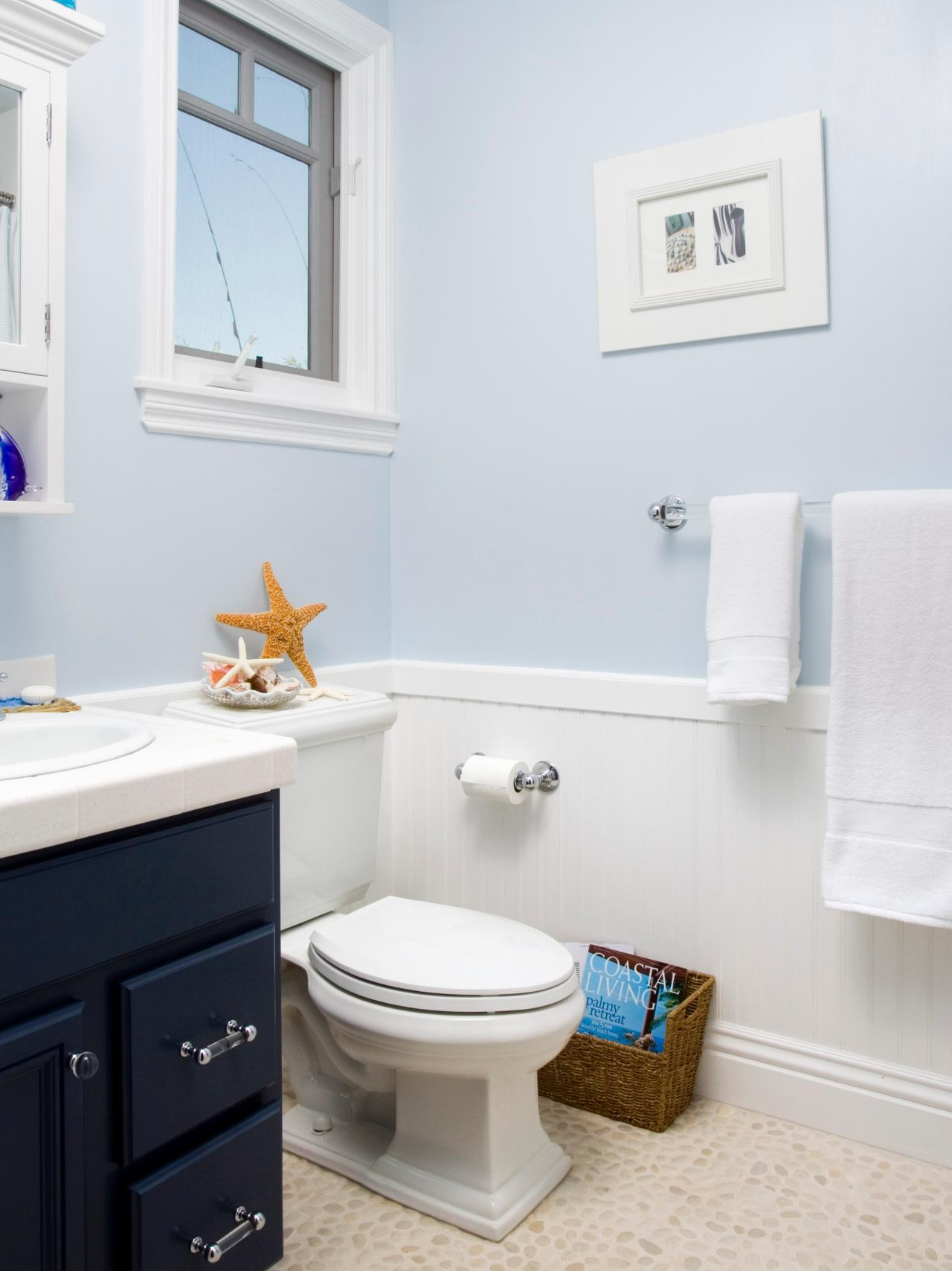 Victorian Bathroom Design Ideas Pictures Tips From HGTV HGTV - Light blue bathroom decor for small bathroom ideas
