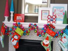 Mantel Decorations for the Holidays