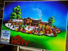 HGTV Float Design for Rose Parade