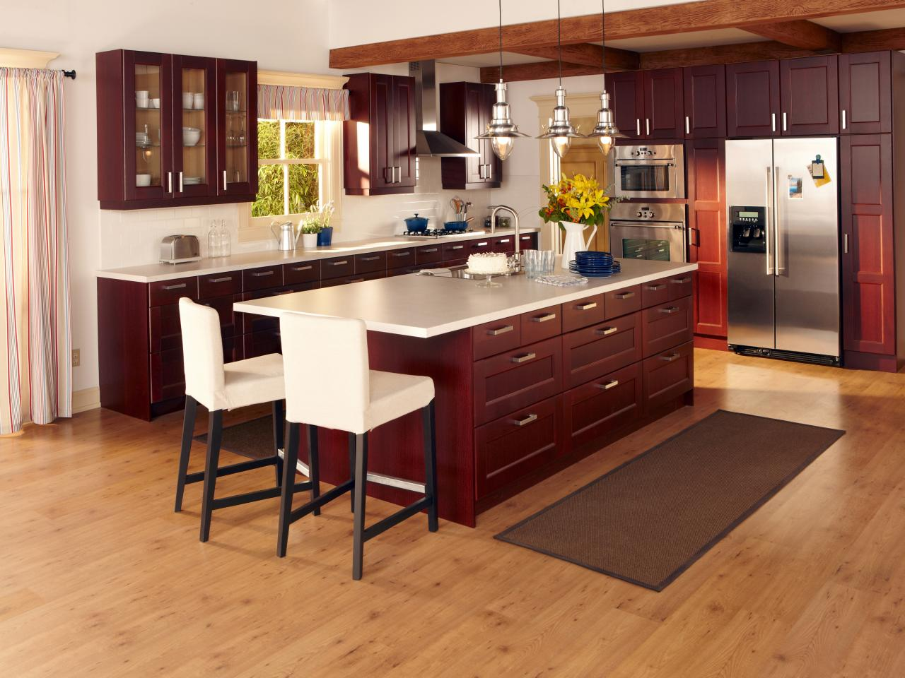 Smart budget kitchen ideas design with cabinets for Kitchen cabinets at ikea