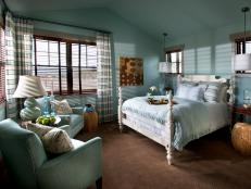 Tranquil Blue Guest Bedroom