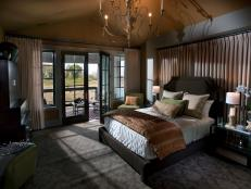 Traditional Master Bedroom in HGTV Dream Home 2012