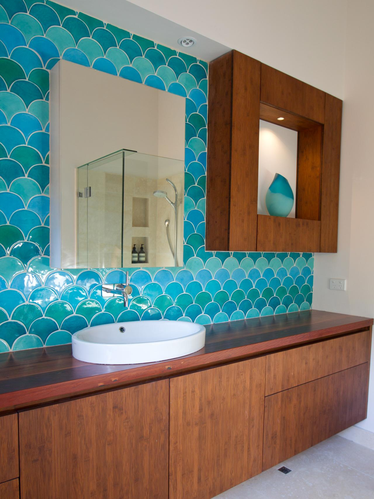 Bathroom Tiles And Paint Ideas bathroom color and paint ideas: pictures & tips from hgtv | hgtv