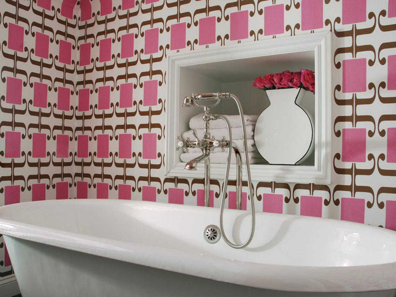 Pink bathroom decor ideas pictures tips from hgtv hgtv Pink bathroom ideas pictures