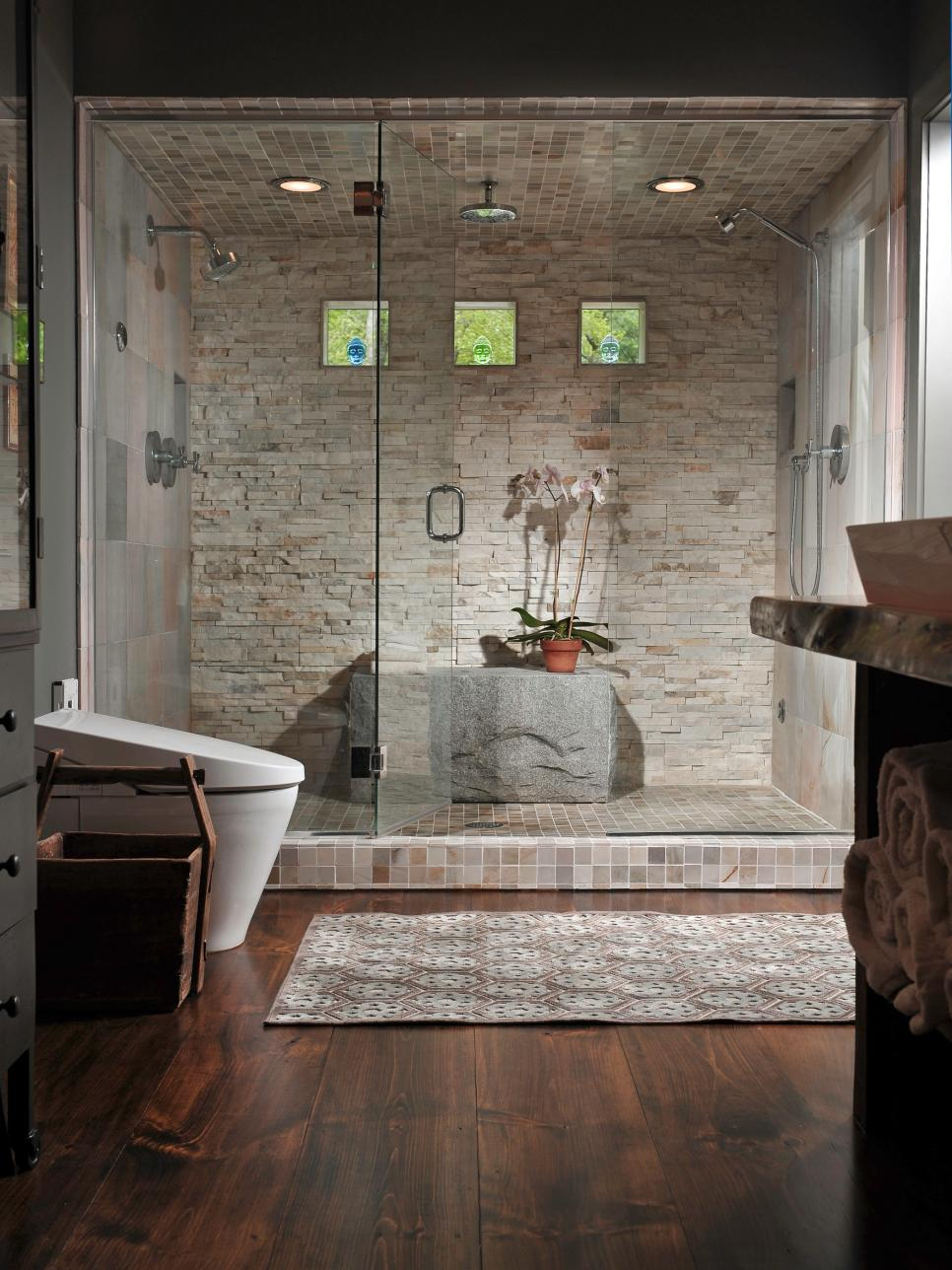 Bathroom Showers Bathroom Shower Designs  Hgtv
