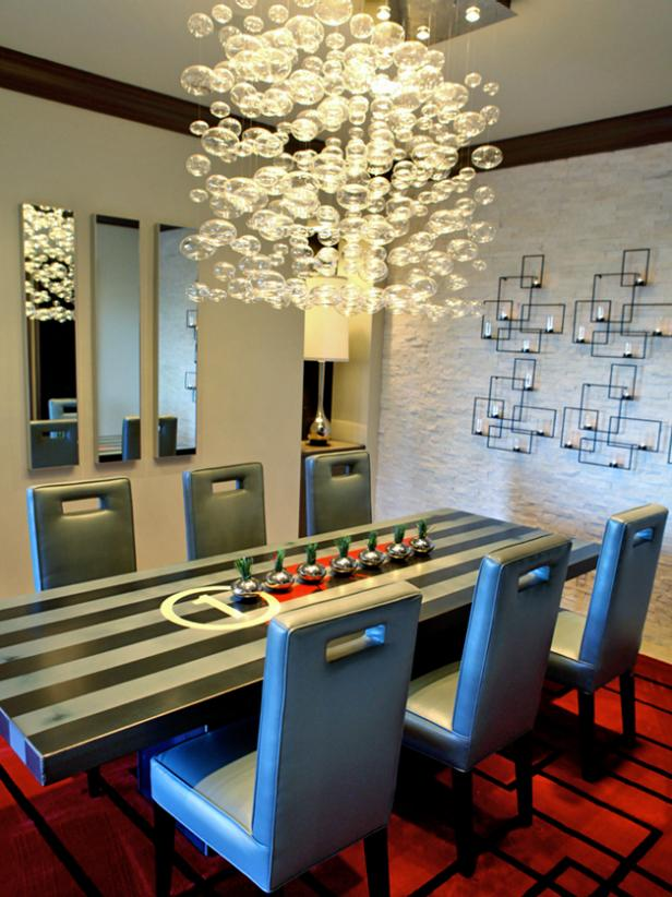 Whimsical Glass Chandelier