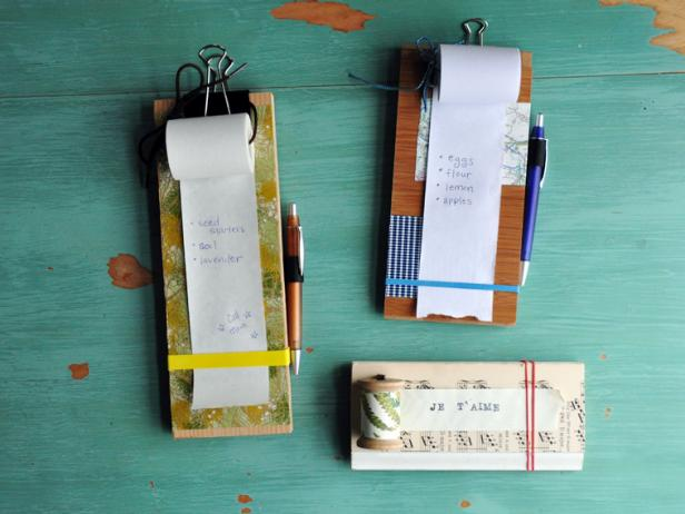 Recycled Hanging notepads