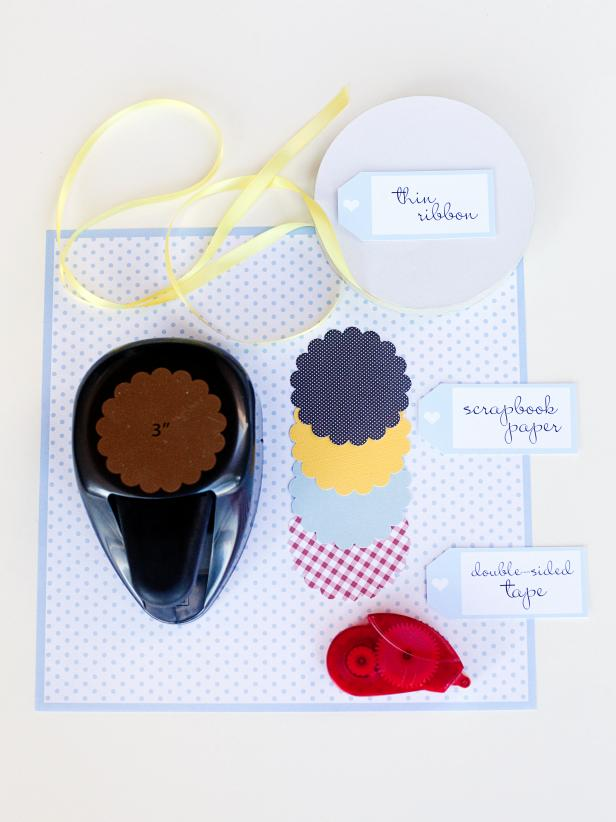 Materials for Valentine's Garland
