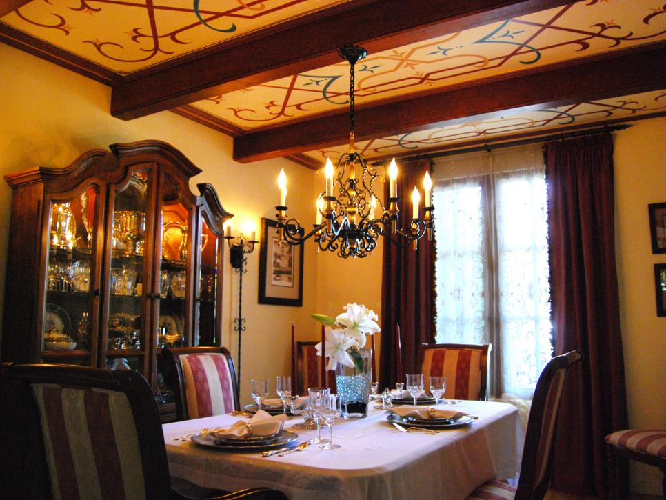Spanish style decorating ideas hgtv for Dining room 101 heswall