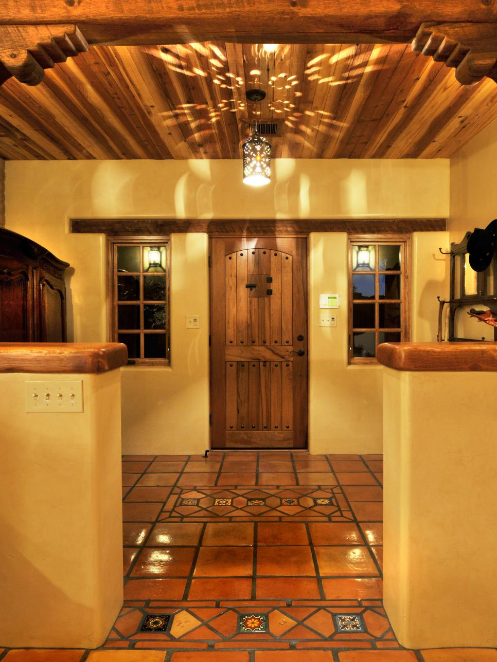 Kitchens With Saltillo Tile Floors 10 Spanish Inspired Rooms Hgtv