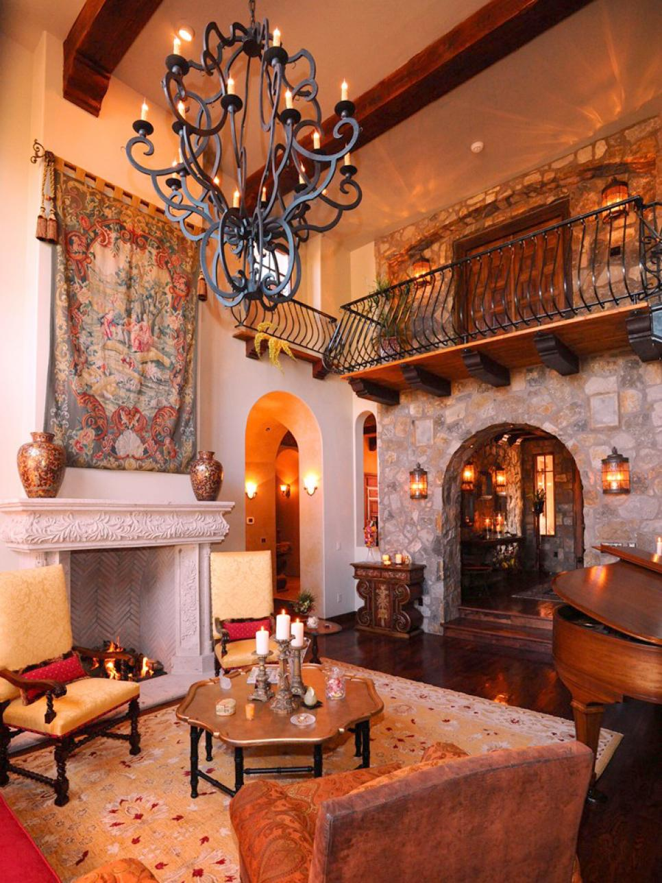 Small Living Rooms Decorating Hgtv: Spanish-Style Decorating Ideas